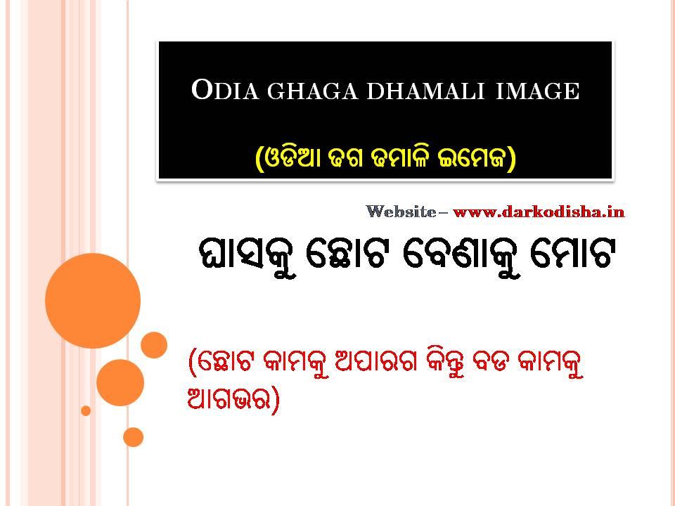 Odia ghaga dhamali image