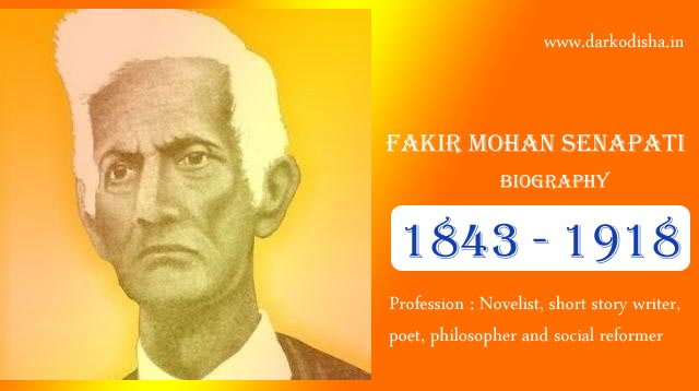 Fakir Mohan Senapati Jibani in Odia