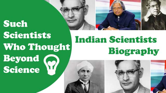 Indian Scientists Biography